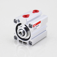 Thin Type Standard Piston Compact Pneumatic SDA Air Cylinder Price