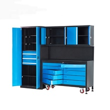 DIY mobile storage chest for tools storage cabinet for workshop