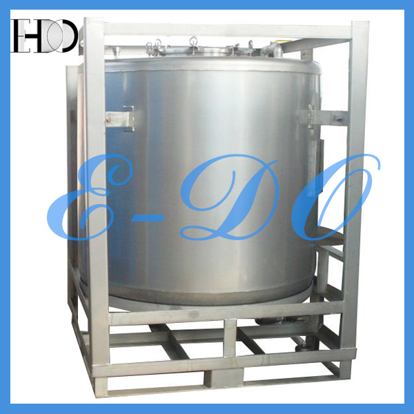 Stainless Steel Cylinder Container for Food Stuff
