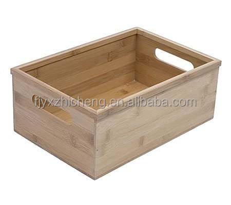 Home & Kitchen Bamboo Lingerie Drawer Storage Organizer Box