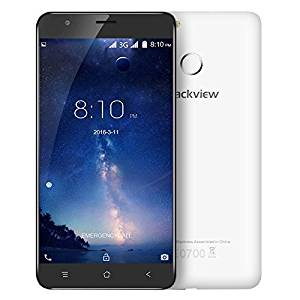 Generic Blackview E7S 16GB, Network: 3G, Fingerprint Identification, 5.5 inch Android 6.0 MTK6580 Quad Core up to 1.3GHz, RAM: 2GB, Support GPS, Dual SIM(White)