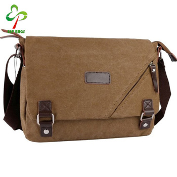 Vintage High Quality Canvas Messenger Bag For Men ac4f3f4bc41bf