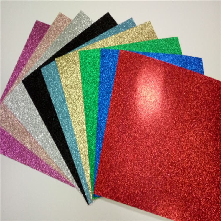 Cardstock card color high quality card stock paper glitter for Craft paper card stock