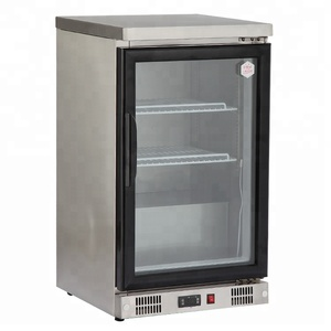 Bar small refrigerator single door stainless steel commercial refrigerators and freezers