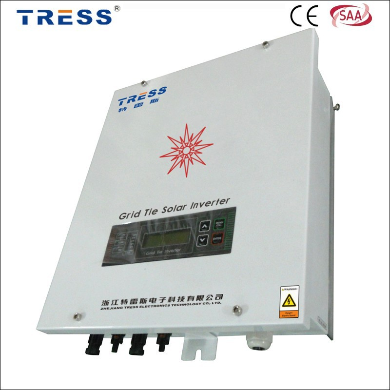 Factory price TRESS grid tie solar mppt inverter 5kw ~ 8kw wall mount high efficiency inverter with CE SAA certification