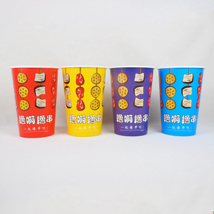 15oz disposable kraft paper cup food grade lower price wholesale paper cup  for food factory price