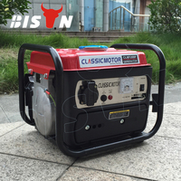 BISON(CHINA) BS950B 650watt Copper Wire Air-cooled Small Home Use Portable Gasoline 950 Generator for Hot Sale
