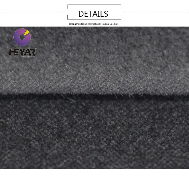 wholesale high quality cotton stretch velvet fabric for suit