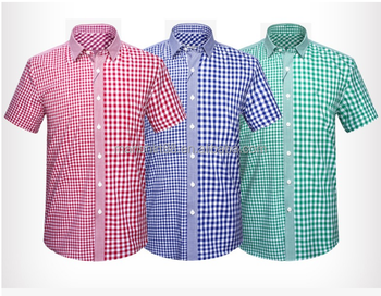 9dfe8373ee De Manga Corta A Cuadros Camisas Para Hombres Jóvenes - Buy Camisas ...