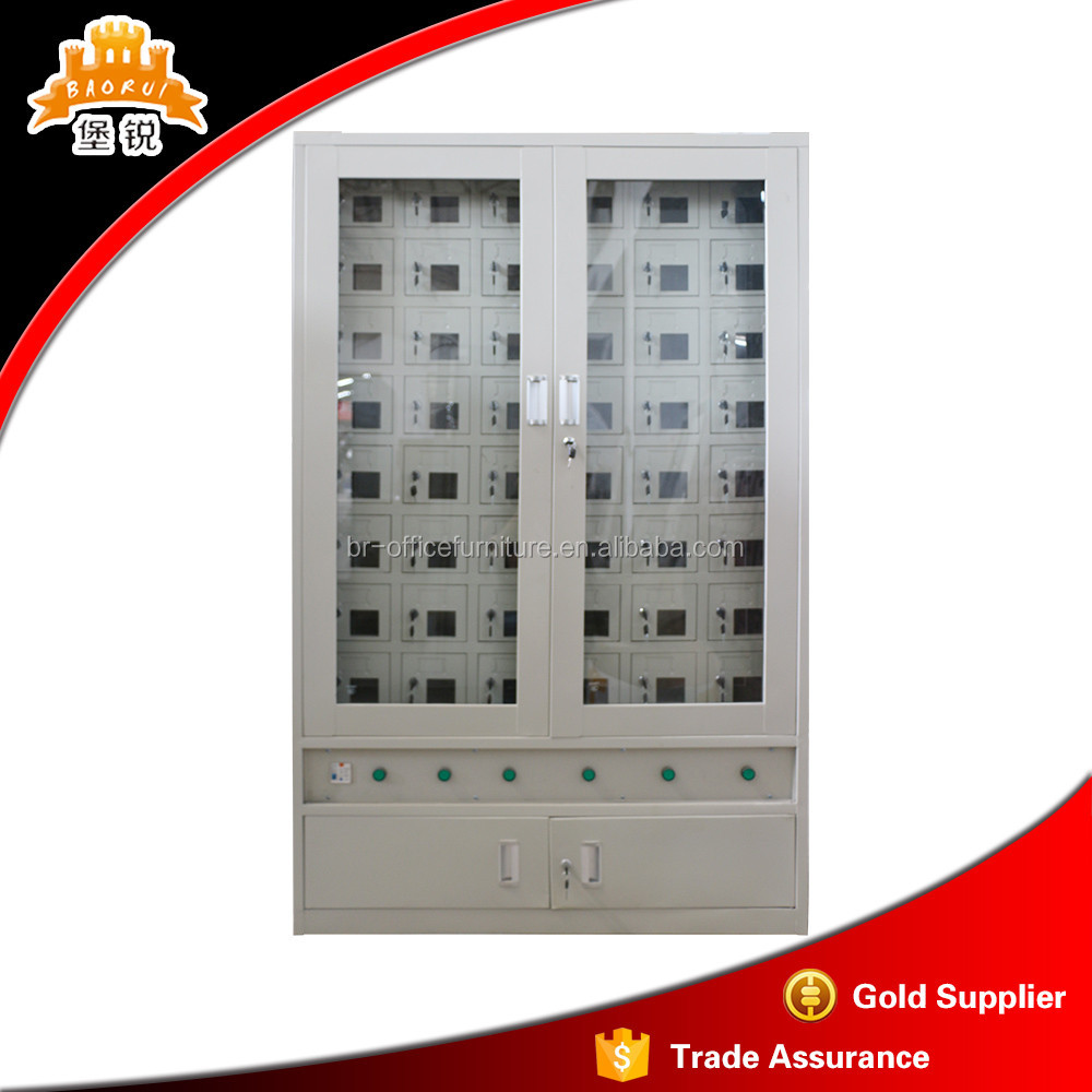 Durable Customized iphone cellphone charging cellphone mobile phone charging station locker