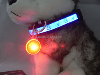 good quality of 8 colors led dog tag with great price for pets