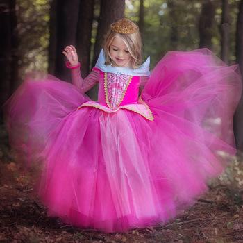Robe princesse la belle au bois dormant