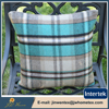 Modern style clear lattice pattern simple cushion cover