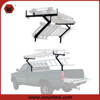 Pickup Truck Bed Ladder Pipe Lumber and Material Rack