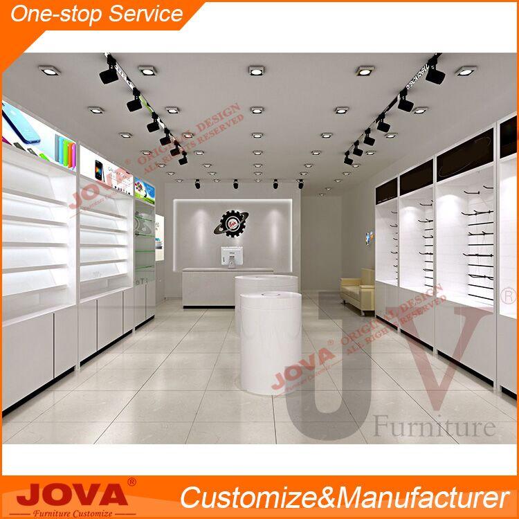 Retail Modern Display Custom Interior Design Mobile Phone Shop ...