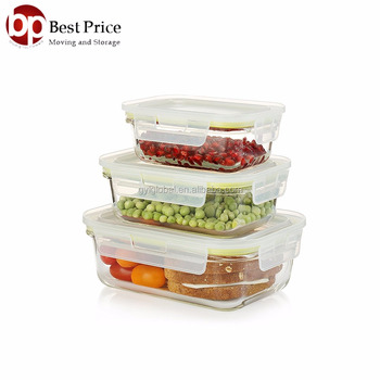 Oven Safe Glass Food Containers Microwave Freezer Safe Airtight