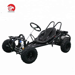 Single seat new design 196cc go kart off road buggy with wet cluth