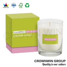 Crown Win Wholesale Recyclable custom Feature and Gift & Craft Industrial Use wholesale candle boxes packaging for candle