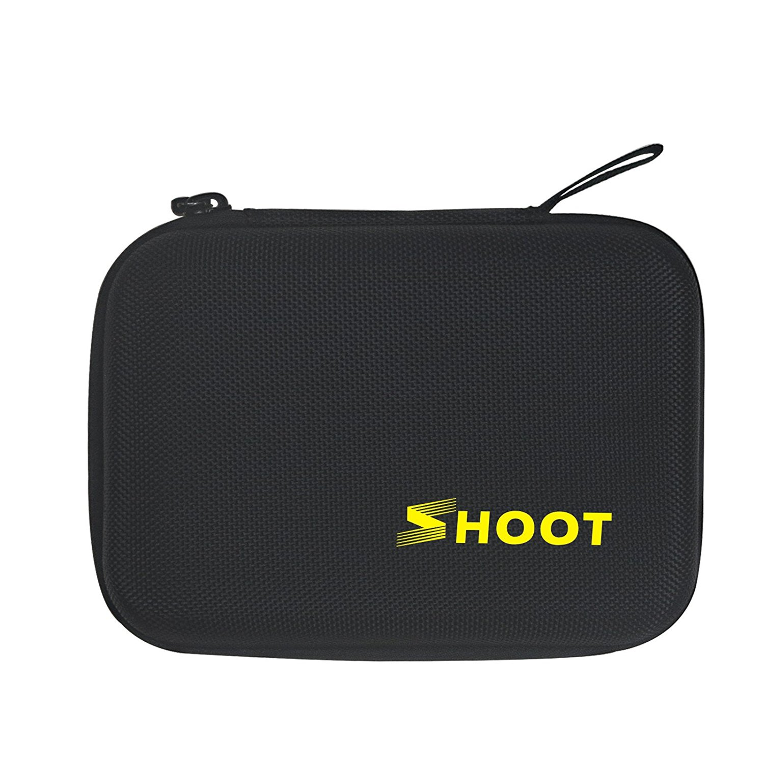 SHOOT Carrying Case for GoPro Hero 7/6/5 Small Size Protective Camera Storage Cases for GoPro Hero 7/6/5/4/3+/3/HERO(2018)/Fusion Campark AKASO DBPOWER Crosstour FITFORT Accessories(6.3''x4.8''x2.8'')