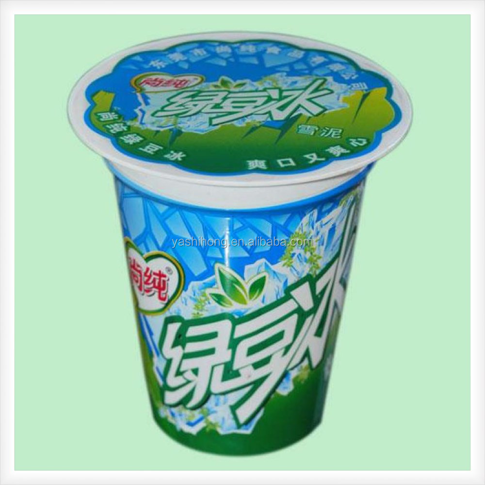 Yashihong Customized Bubble Tea Plastic Cup Sealing Film For Jelly ...