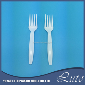Small Cheap Colorful Table Spoon, Custom Disposable Fork, Plastic Spoon And Fork Set