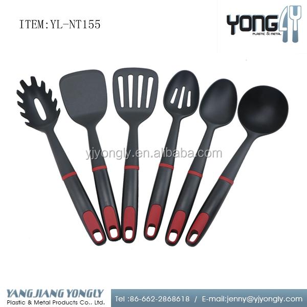 2017 New Design Nylon Kitchenware Food Grade Kitchen Tools Utensils 6pcs -  Buy Names Of Kitchen Utensils,Bonny Kitchen Utensils,Cooking Utensil Set ...