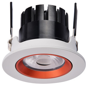 Decorative lighting interchangeable colorful ring recessed downlights 5W 8W 10W