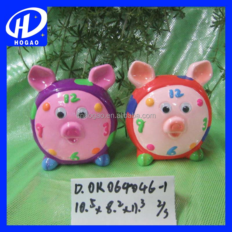 hot sell new style cute pig face ceramic piggy coin bank for home ornament