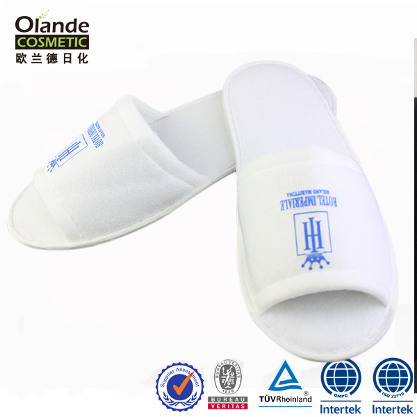 High Quality Anti Slip Comfortable Disposable Hotel Slippers