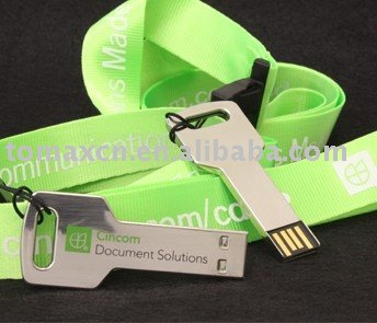 key with lanyards USB DRIVER