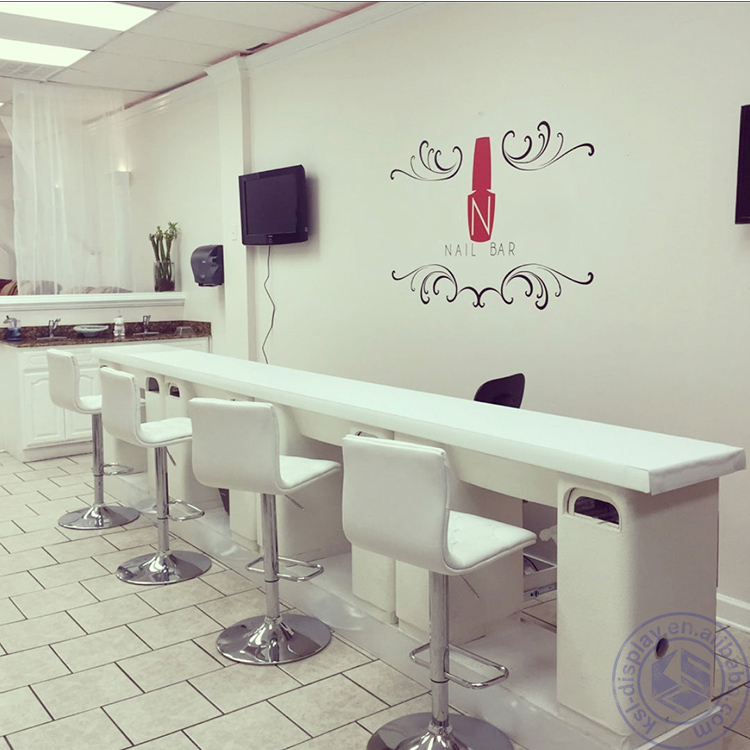Manicure table design nail salon shop furniture table buy nail salon table nail salon shop - Table bar salon ...