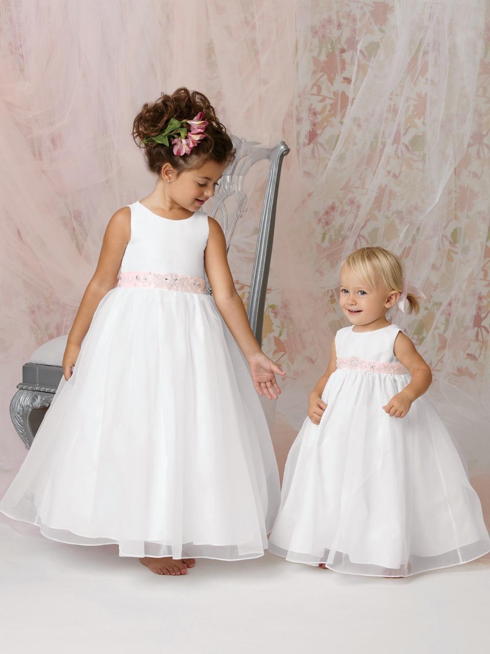 Latest Dress Designs For Flower Girls White Flower Girl