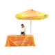 Shop 2x2M outdoor advertising custom logo printed sun shelter golf garden beach folding umbrella covers