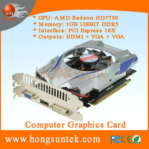 AMD HD 7750 1GB 128bit DDR5 PCIExpress Graphics Card