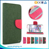 Mixed Color Wallet Style PU Flip Cover Case For Micromax A92