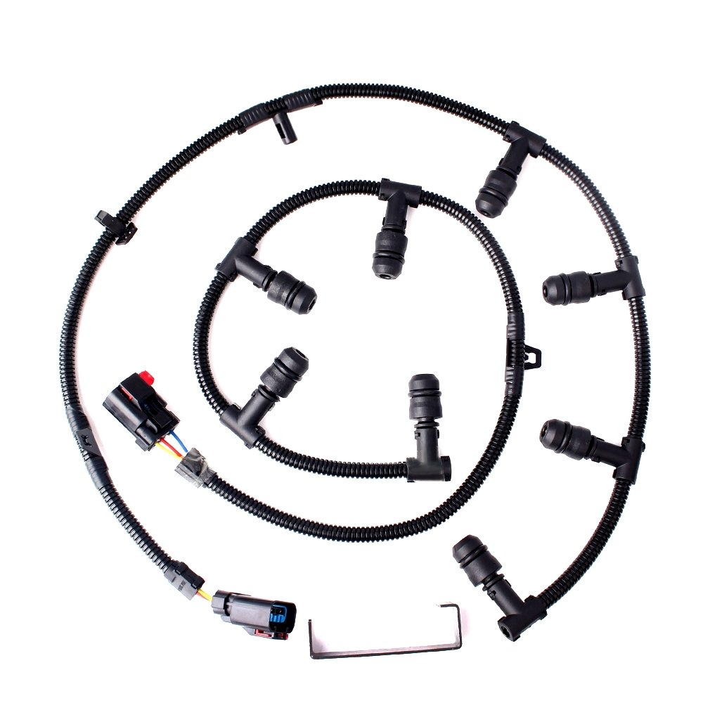 Cheap Oem Ford Wire Harness Find Deals On 2004 F 250 Icp Sensor Connector Get Quotations 60 Powerstroke Glow Plug Left Right With Removal Tool F250