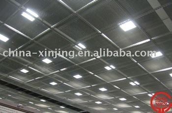 Metal mesh suspended ceiling panel Stretch decoractive tiles View