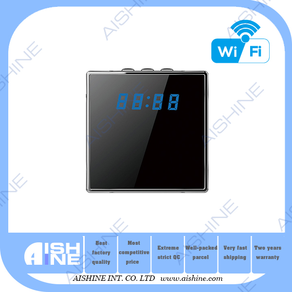 Digital Network Home Security Nanny Cam hd 1080p hidden dvr mini video security wifi mini table clock camera