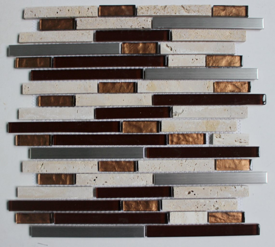 Golden Select Glass And Stone Mosaic Wall Tiles Buy