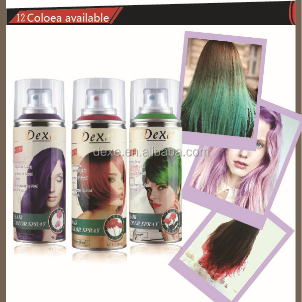 Famous Brand Saudi Arabia Washable Temporary Hair Color Spray View