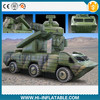 Hot sale inflatable military tank, inflatable military products for advertising