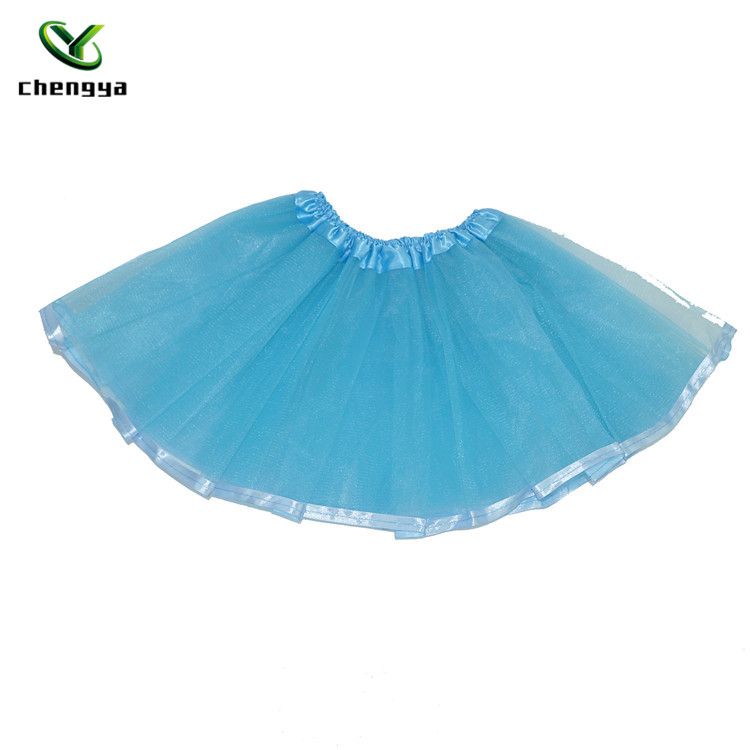 Eco-friendly fashion girls angel tutu skirt baby