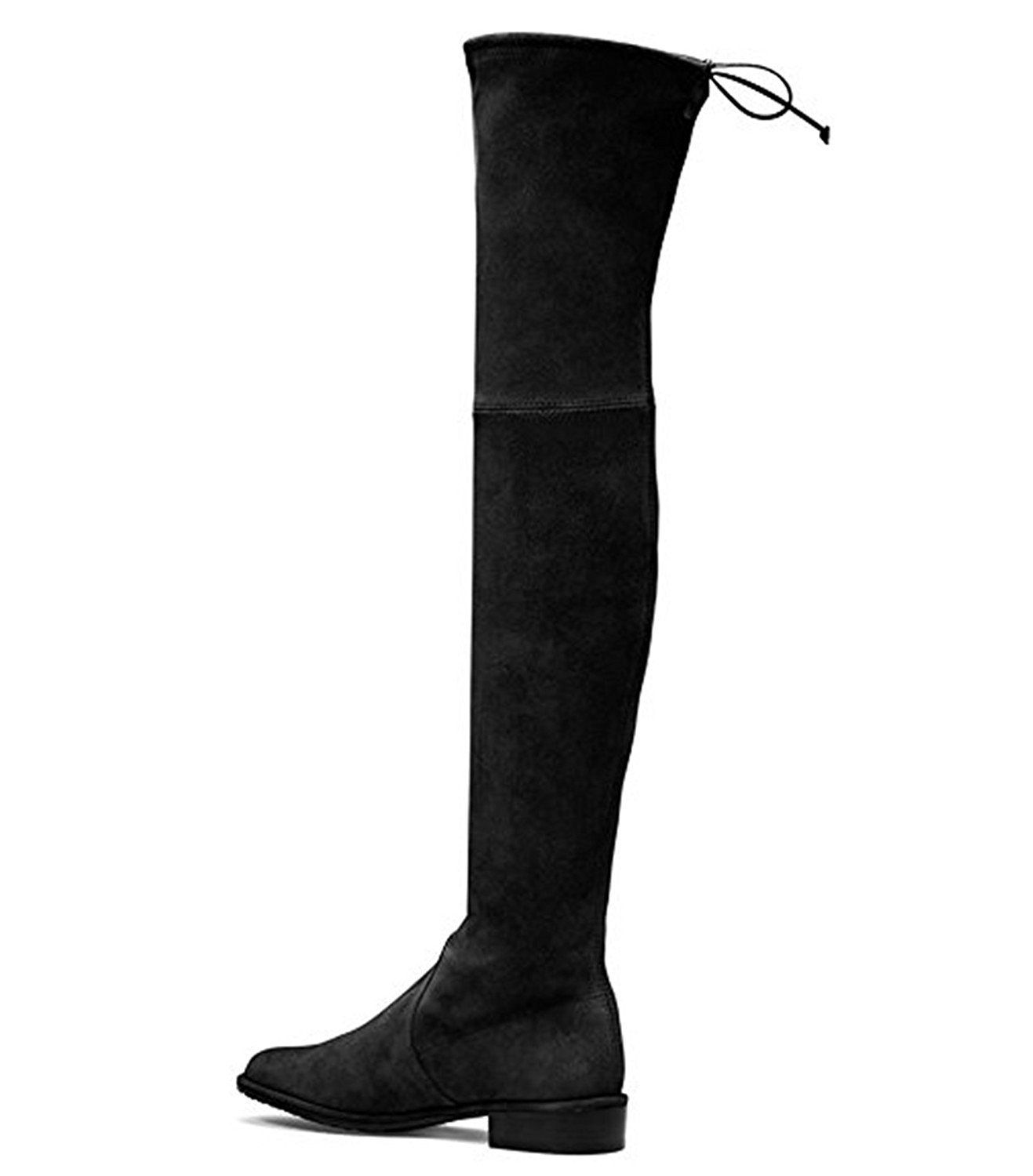 3bbeee0b1bf7 Get Quotations · ACEDICHY Knee High Boots
