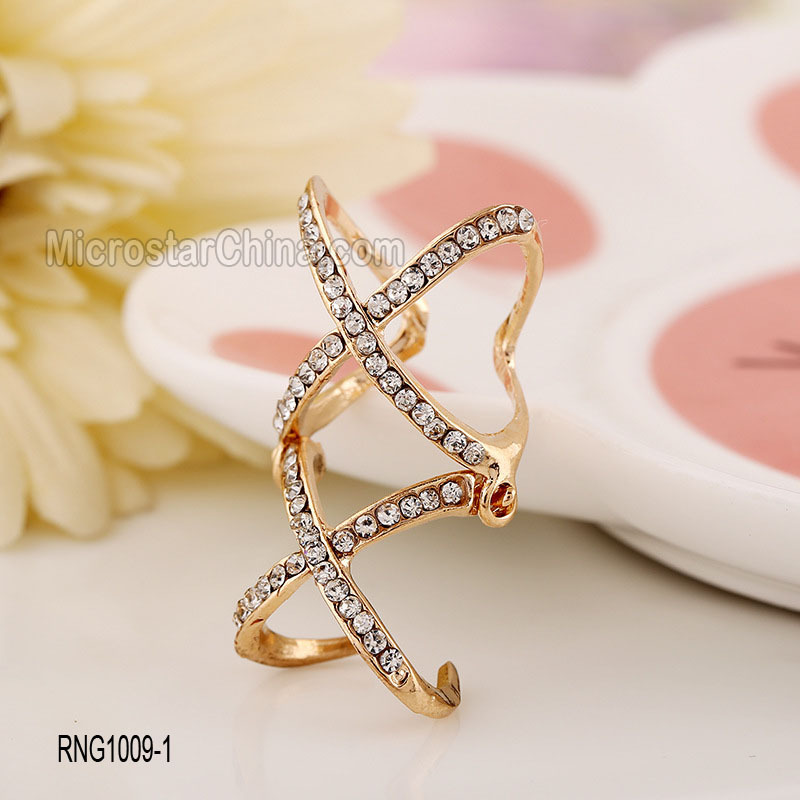 Hot French Design Personalized Latest Gold Ring Designs