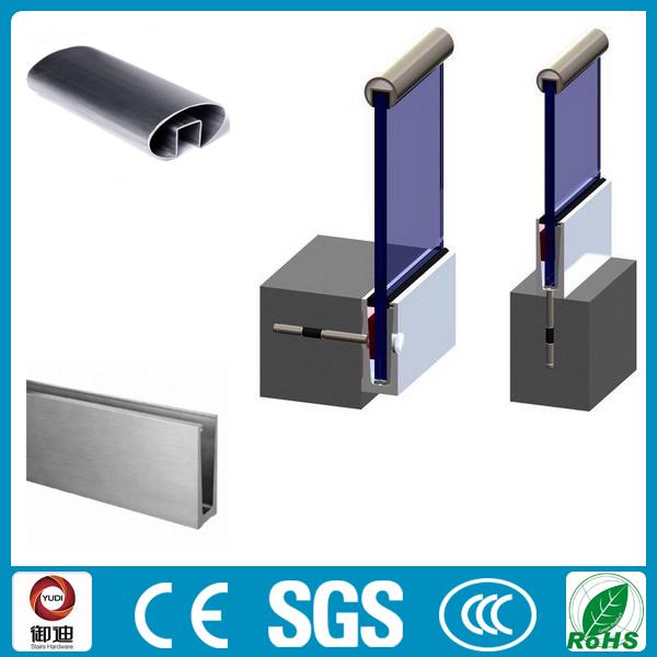 Aluminium Channel For Glass Railing Buy Aluminium