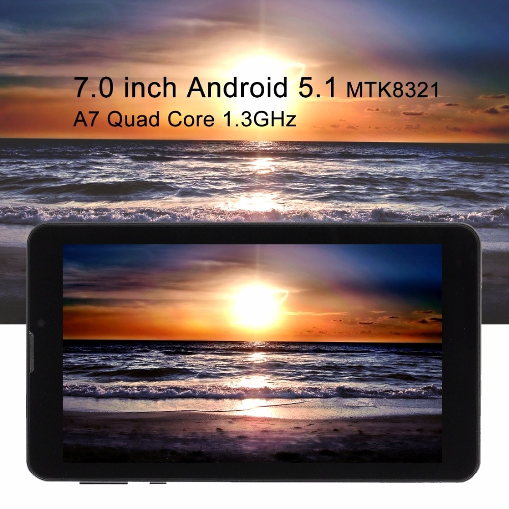 Cheap 3G Mobile Phone phablet 7.0 inch Quad Core 1.3GHz RAM 1GB ROM 8GB Dual SIM Phone Call Tablet pc