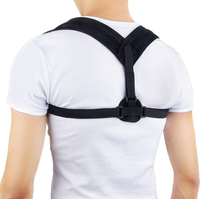 Comfortable Posture Corrector for Men and Women Adjustable Upper Back Brace Clavicle Support