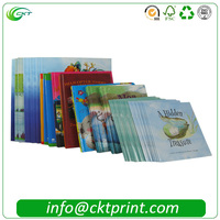 Customized CMYK Printing Softcover Children English Story Books with Perfect Binding