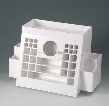 Clear Acrylic Cosmetic Display , acrylic make up organizer