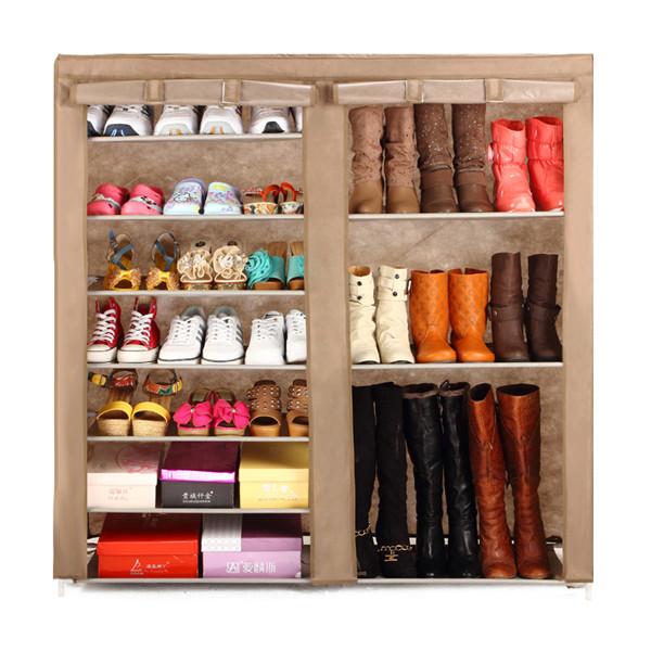 Port til zapato estante espacio de ahorro de zapatos doble - Armarios para zapatos ...
